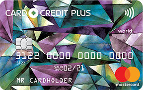 С овердрафтом CARD CREDIT PLUS - кредитная карта от компании КРЕДИТ ЕВРОПА БАНК