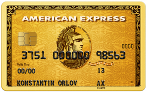 American Express Gold Card - кредитная карта от компании РУССКИЙ СТАНДАРТ