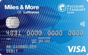 Miles & More Visa Classic Debit Card - кредитная карта от компании РУССКИЙ СТАНДАРТ